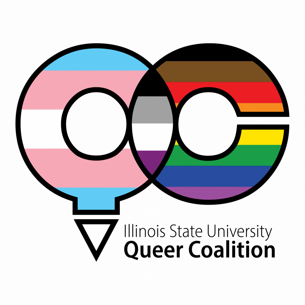 Illinois State University Queer Coalition logo
