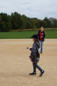 The ELANCO third graders were very competitive when it came time for the egg race!