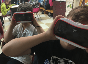 student vr goggles