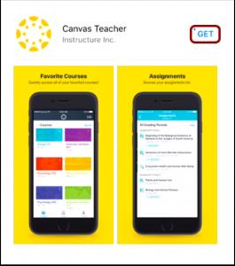 screenshot of phone app