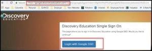 logon with google