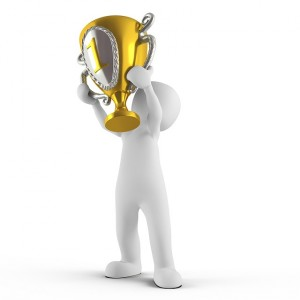 Congratulations! You won the Brilliant Blogger Award! Picture from Pixabay.