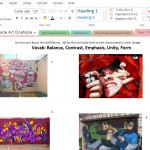 8th Grade Art OneNote
