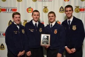 State Winning Environmental Natural Resources Team