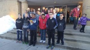 Group Pic Physical Ed Center Alvernia
