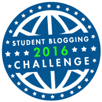 I'm taking part in the Student Blog Challenge