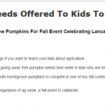 pumpkin seed article