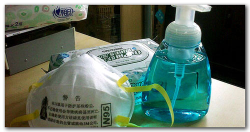 mask-tissue-disinfectant