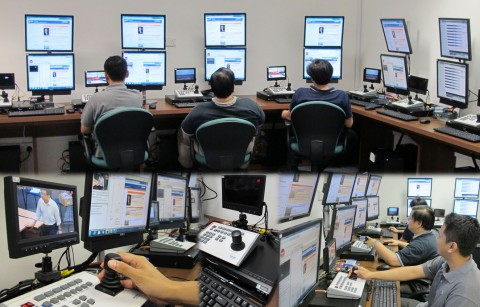 Central Webcast Control Room