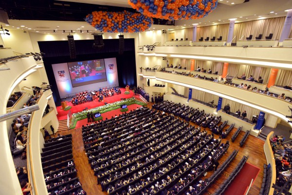 Commencement venue - University Cultural Centre (UCC)