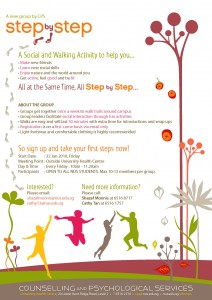 step by step flyer