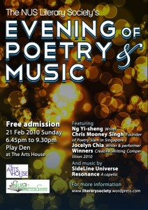 Evening of Poetry and Music (litsoc)
