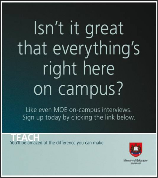 MOE on-campus interviews