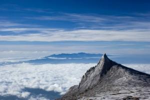 The south peak of Mount Kinabalu