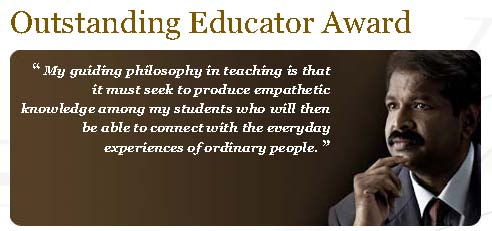 Outstanding Educator Award 2010