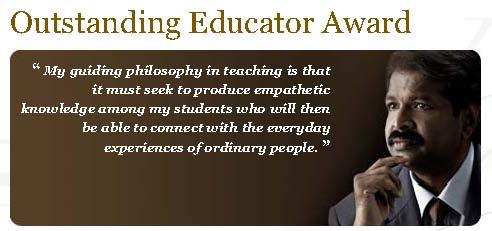 Outstanding Educator Award 2010