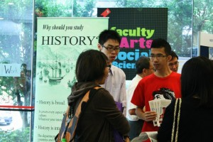 At the History Booth. Photo taken by Christel Quek (www.christelquek.com)
