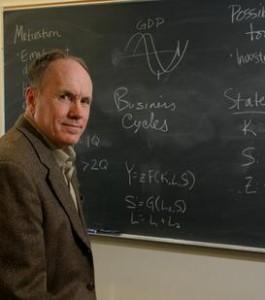 2004 Nobel Prize for Economics Laureate - Dr Edward Prescott
