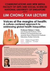 Voices at the margins of health