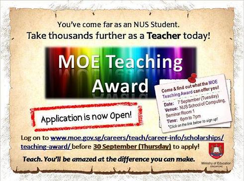 moe teaching award