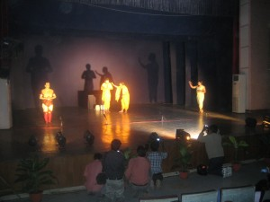 Students of the Dept of English : Staging of Bhisham Sahni's play Madhavi