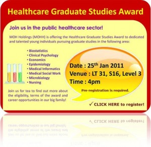 Healthcare Graduate Studies Award