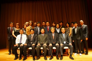 Ambassador Suzuki, members of the JCCI Advisory Board, and 2010 recipients of JCCI donations, awards and scholarships.