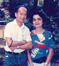 Mr Goh Sin Tub and Dr Sylvia Goh