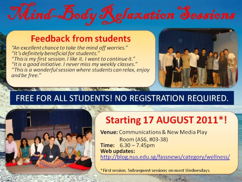 Orientation Slide_Mind-Body Relaxation Sessions