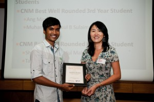 Shaiful Rizal - Best Well Rounded CNM Honours Student and Hill Knowlton Best Communication Management Student