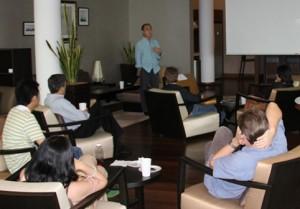 Prof Chua Beng Huat presenting