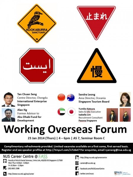 working overseas forum