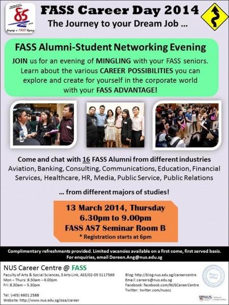 alumni-student networking evening