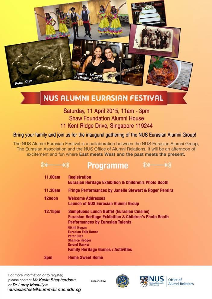 NUS Eurasian Festival 2015