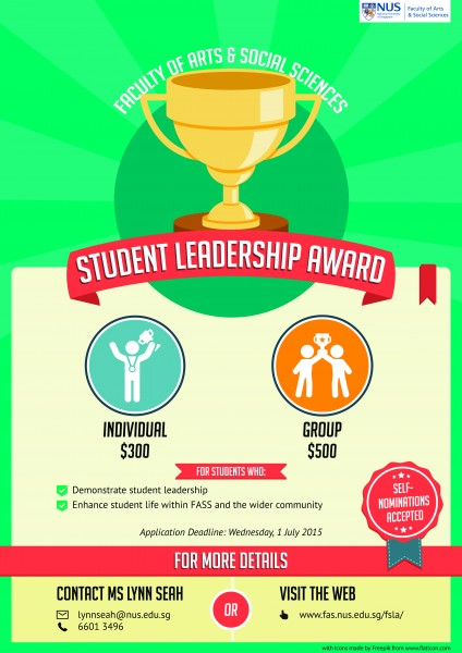 Student leadership award