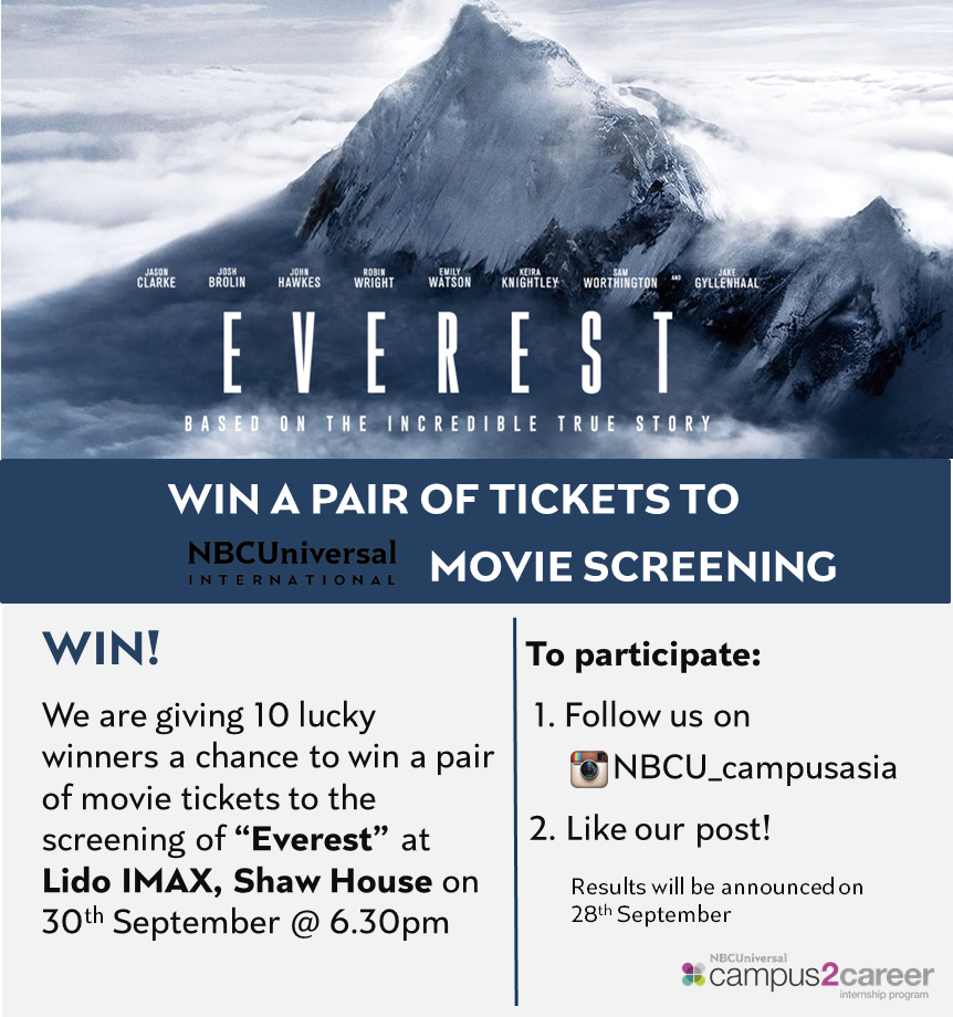 Everest Movie Screening