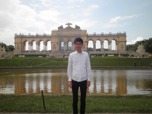 Schönbrunn Palace, Vienna, Austria. Taken during the 2015 European Political Science Assoiation Annual Meeting
