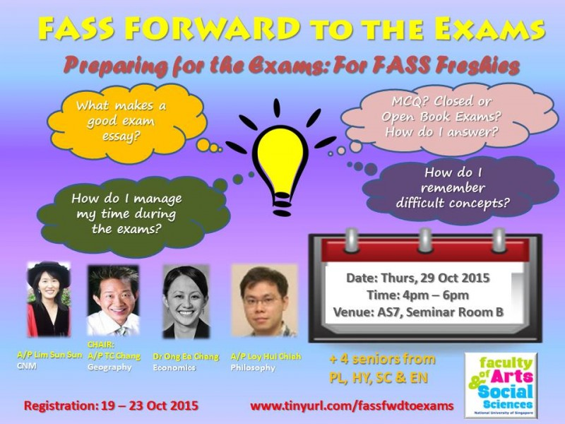 FASS Forward to the Exams, 29 Oct 2015 (Publicity1)