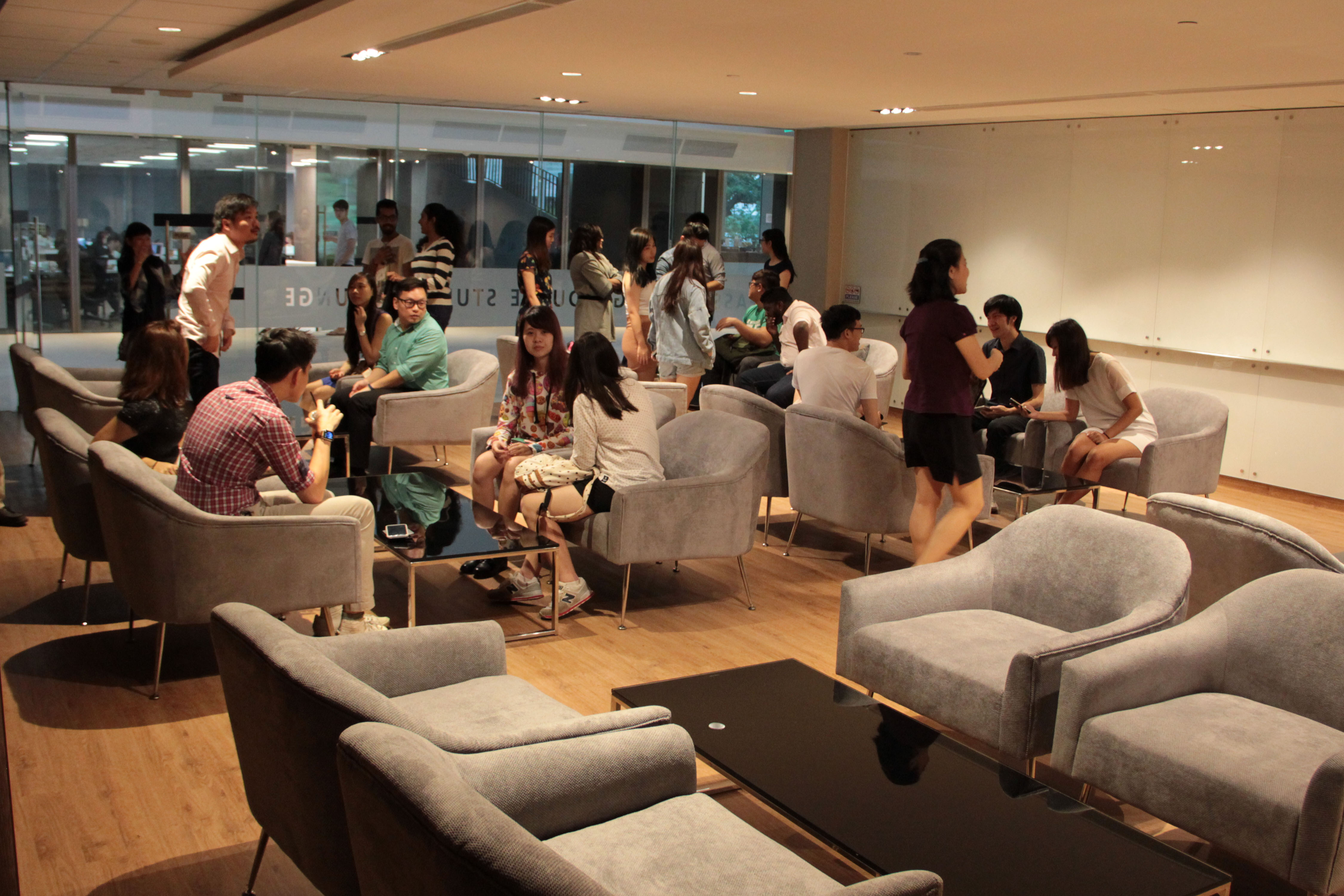 Undergraduate Student Lounge At As8 Is Now Open Fass News
