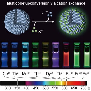 multicolour-synthesis-in-lanthanide-doped-nanocrystals-through-cation-exchange-in-water