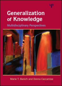 Generalization of knowledge multidisciplinary perspectives