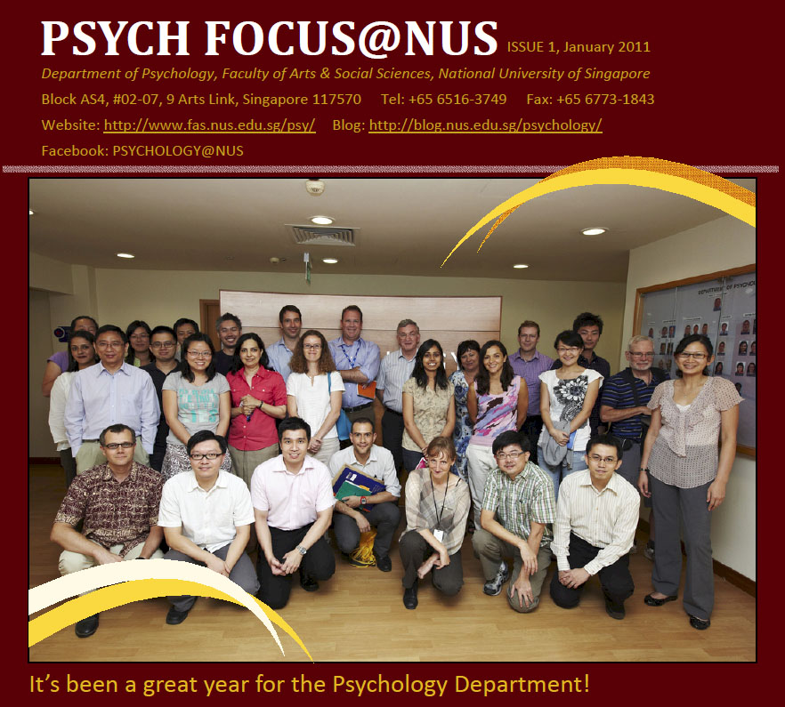 Psych Focus@NUS (Issue 1)