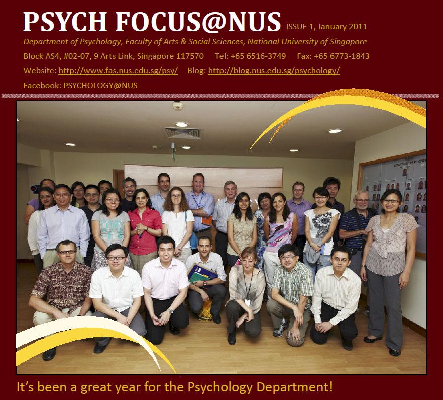 Psych Focus@NUS (Issue 1)