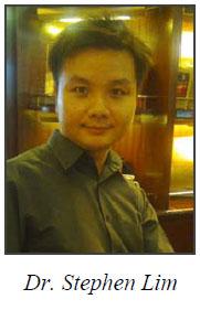Dr. Stephen Lim promoted to Senior Lecturer!