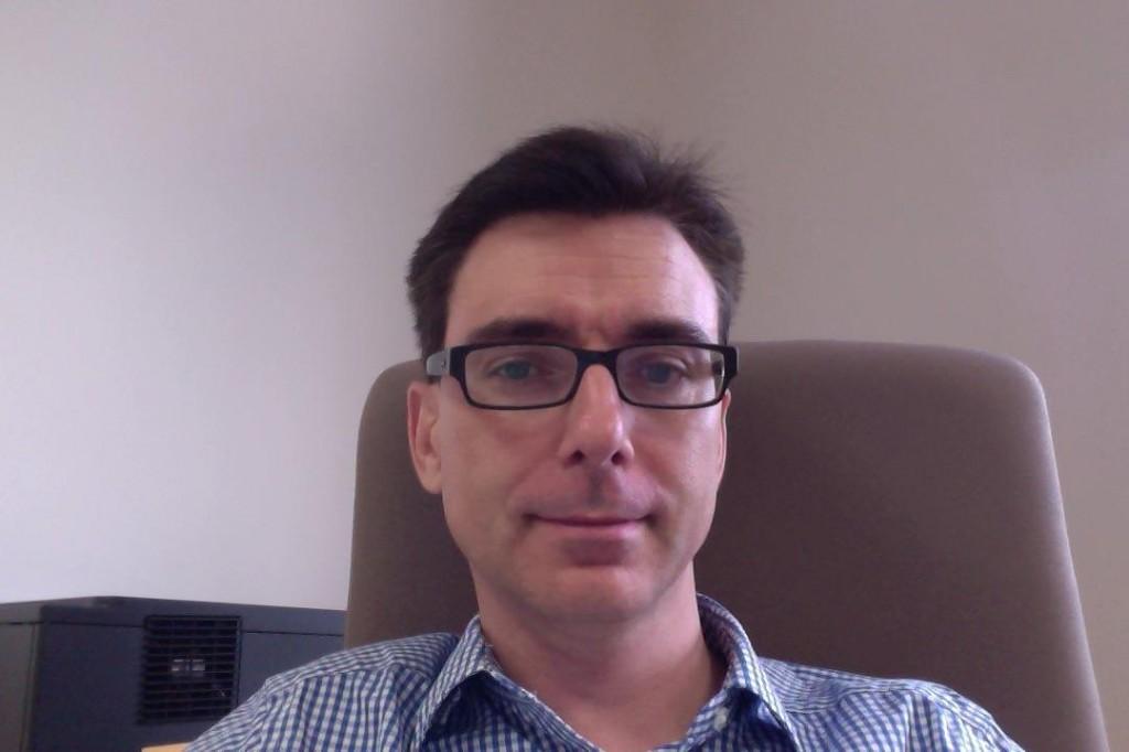New Staff: A/P Stuart Derbyshire