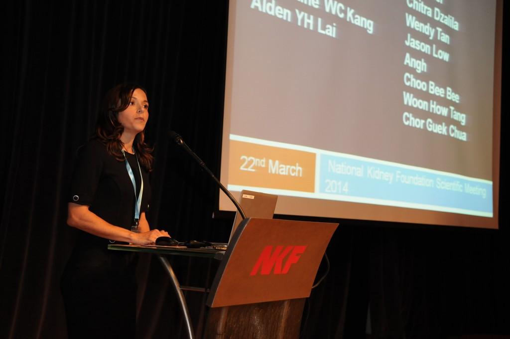 A/P Konstadina Griva selected as plenary speaker for NKF scientific meeting