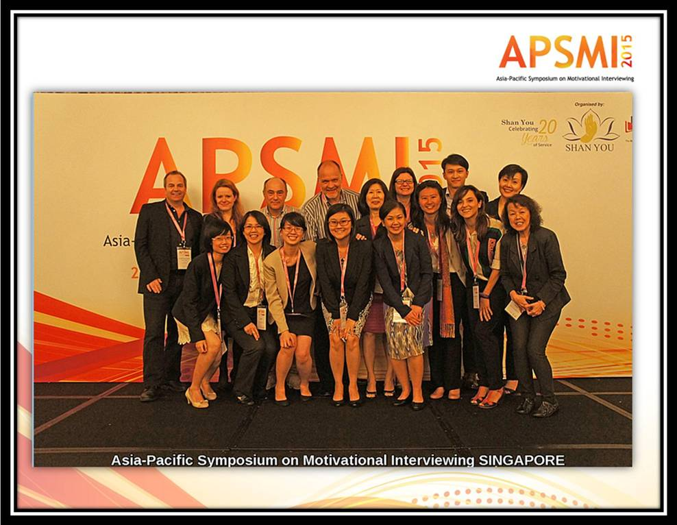 A/P Konstadina Griva at inaugural Asian Pacific Symposium in Motivational Interviewing