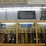 Hunting guns at Walmart