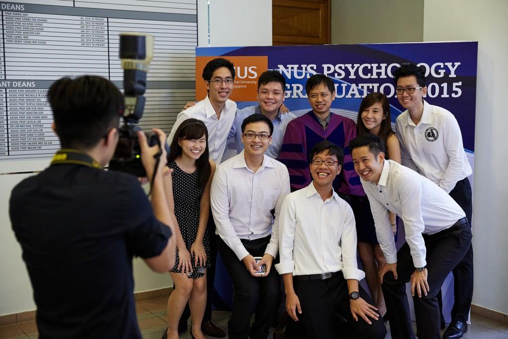 NUS Psychology Graduation Celebration 2015