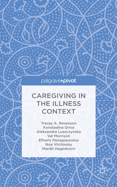 "New book by A/P Konstadina Griva ""Caregiving in the Illness Context"""